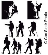 Clipart hikers jpg library library Hiking Illustrations and Clipart. 55,867 Hiking royalty free ... jpg library library