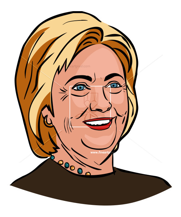 Clipart hillary clinton picture royalty free Hillary Clinton | Free vectors, illustrations, graphics, clipart, PNG ... picture royalty free