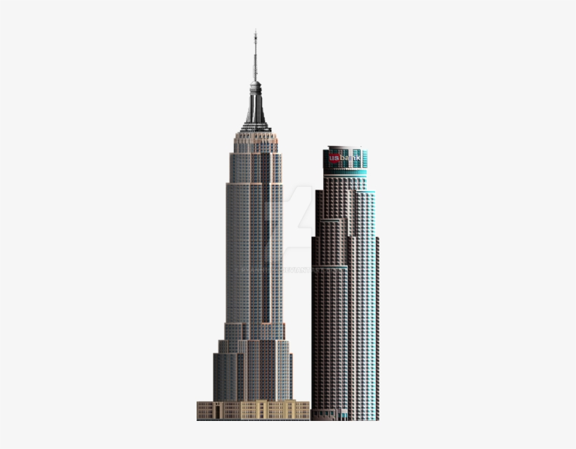 Clipart hilton hotel clip black and white library Download Us Bank Tower Png Clipart Empire State Building - Hilton ... clip black and white library
