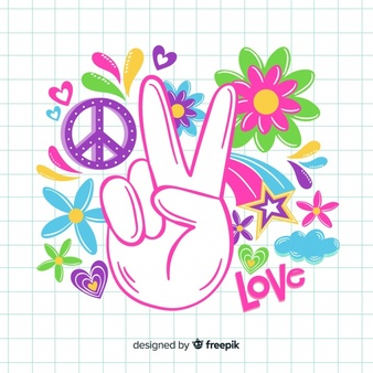 Clipart hippie era 1960 s printable free download clipart library stock Hippie Vectors, Photos and PSD files | Free Download clipart library stock