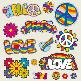 Clipart hippie era 1960 s printable free download vector freeuse library Hippie Vectors, Photos and PSD files | Free Download vector freeuse library