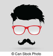 Clipart hipster black and white library Hipster Stock Illustrations. 300,833 Hipster clip art images and ... black and white library
