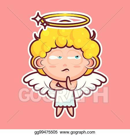 Clipart hmm clip art freeuse Vector Art - Sticker emoji emoticon. Clipart Drawing gg99475505 ... clip art freeuse