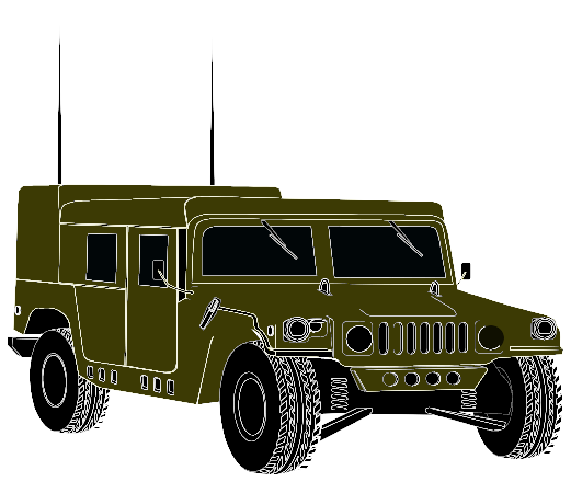 Clipart hmmwv image black and white stock Humvee Clipart   Free download best Humvee Clipart on ClipArtMag.com image black and white stock