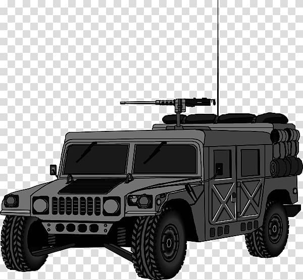 Clipart hmmwv clip black and white stock Hummer H2 Humvee Hummer H3 , safari transparent background PNG ... clip black and white stock