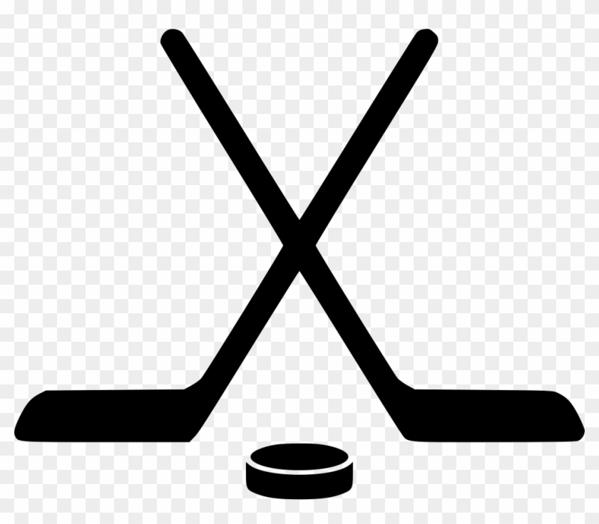 Pictures of hockey sticks clipart