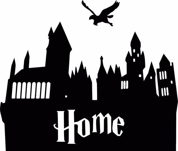 Clipart hogwarts picture royalty free download Hogwarts castle silhouette clipart 5 » Clipart Portal picture royalty free download