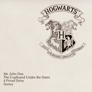 Clipart hogwarts h stamp logo outline clip art library Printable Hogwarts Letter. Fill in the blank and it creates your ... clip art library