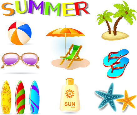 Summer holiday pictures clipart vector black and white stock Summer holidays clip art free vector download (220,854 Free vector ... vector black and white stock