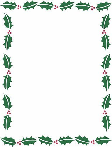 Clipart holiday borders graphic transparent stock Holiday Borders For Microsoft Word | Christmas Backgrounds ... graphic transparent stock