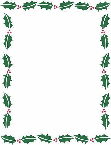 Christmas holidays border clipart vector stock Holiday Borders For Microsoft Word | Christmas Backgrounds ... vector stock