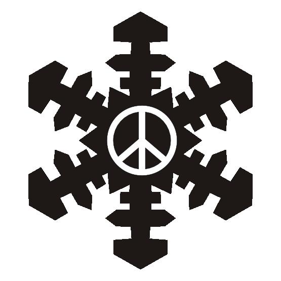 Clipart holiday snowflake vector royalty free clipartist.net » Clip Art » snowflake christmas xmas holiday peace ... vector royalty free