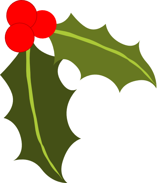 Single holly leaf clipart png free library Free Holly Leaves Clipart, Download Free Clip Art, Free Clip Art on ... png free library