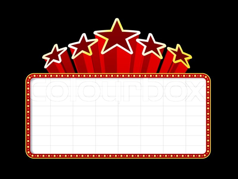 Theatre lights border clipart clipart free stock Hollywood Border Cliparts | Free download best Hollywood Border ... clipart free stock