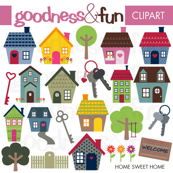 Clipart home sweet home. Clipartfest