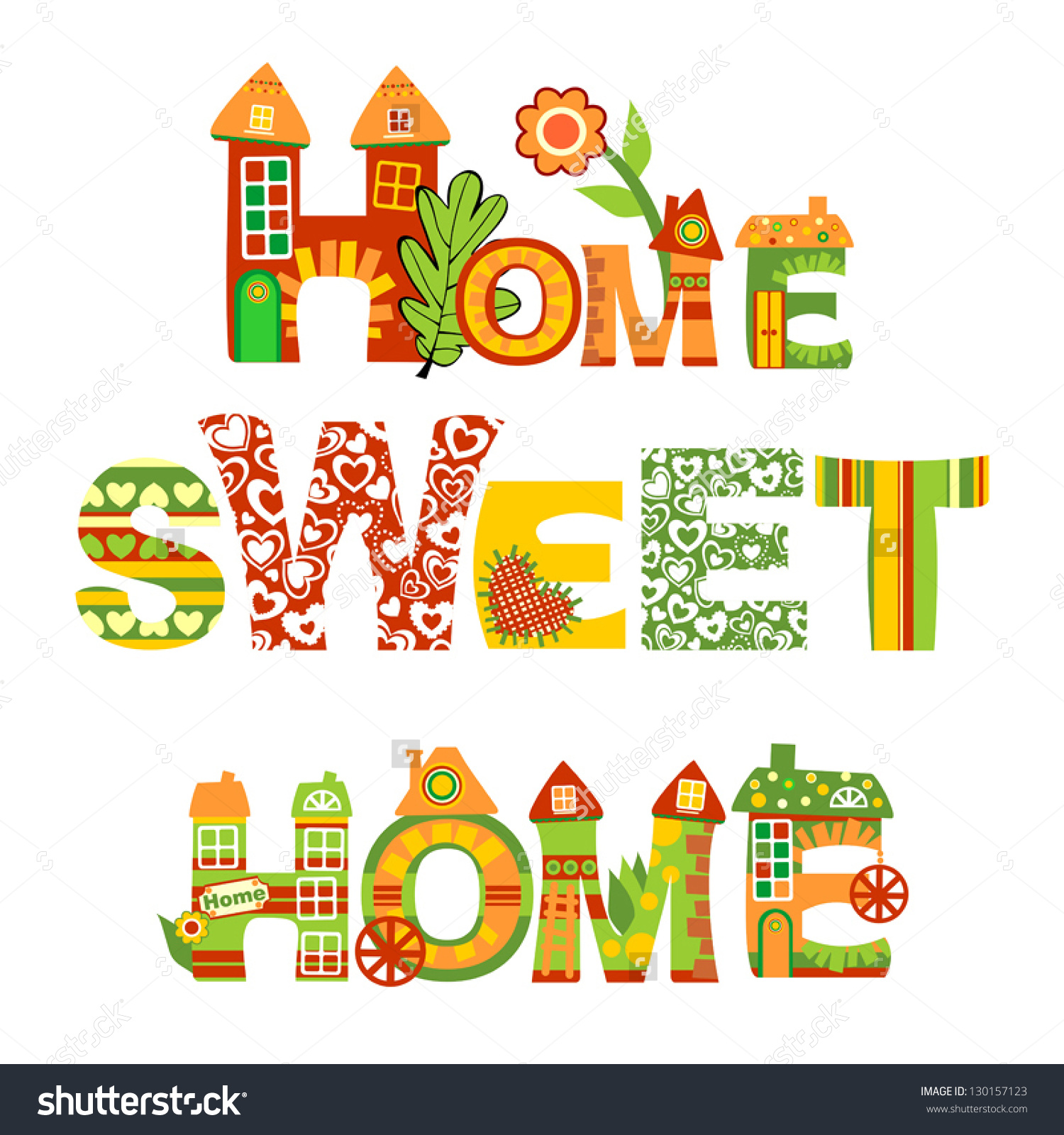 Clipart home sweet home png stock Clipart home sweet home - ClipartFest png stock
