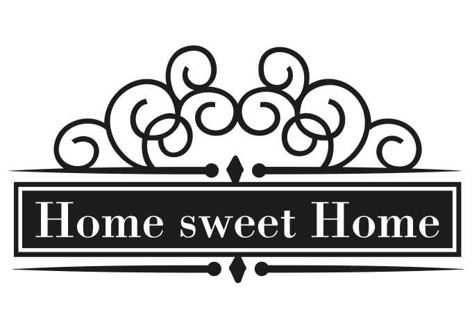 Logo panda free images. Clipart home sweet home
