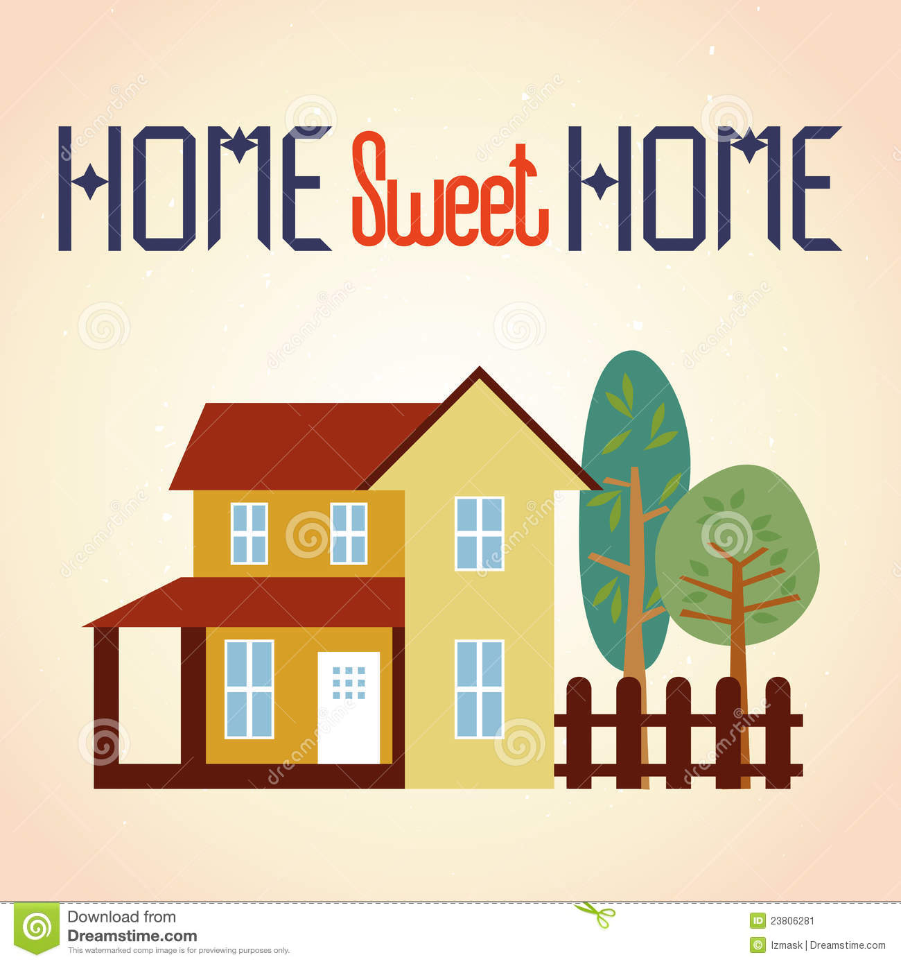 Clipart home sweet home graphic free stock Clipart home sweet home - ClipartFest graphic free stock