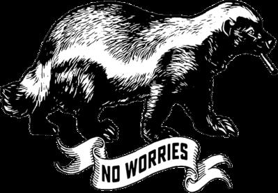 Clipart honey badger clip art transparent download Honey Badger Drawing at PaintingValley.com | Explore collection of ... clip art transparent download