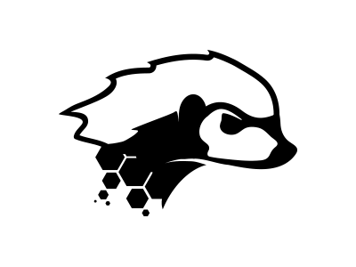 Clipart honey badger picture black and white download Mad Honey Badger | kai | Honey badger, Honey badger tattoo, Badger ... picture black and white download