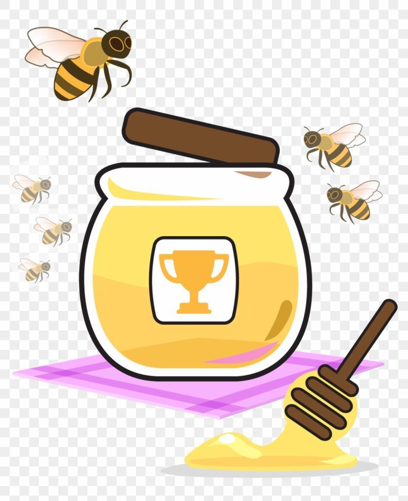 Clipart honey jar vector free stock Best HD Honey Jar Clip Art Image » Free Vector Art, Images, Graphics ... vector free stock
