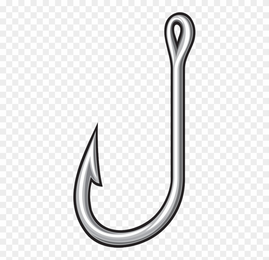 Clipart hook graphic library library Fish Hook Png, Download Png Image With Transparent - Transparent ... graphic library library