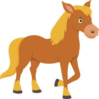 Horse pictures clipart