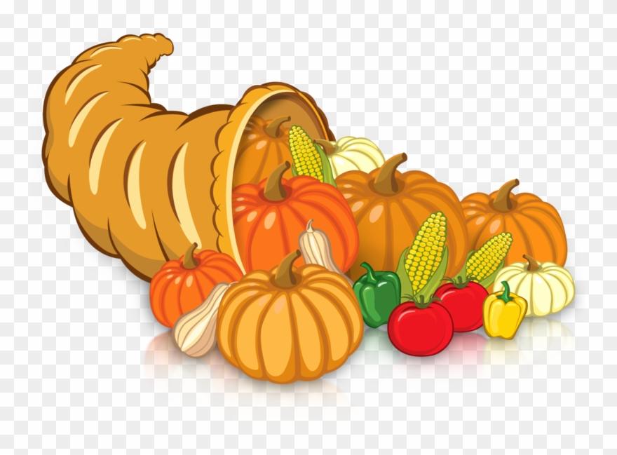 Clipart horn of plenty royalty free stock Horn Of Plenty - Pumpkin Clipart (#619489) - PinClipart royalty free stock