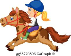 Clipart horseriding png free download Horseback Riding Clip Art - Royalty Free - GoGraph png free download