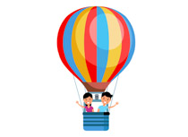 Clipart hot air balloons clipart free Free Hot Air Balloon Clipart - Clip Art Pictures - Graphics ... clipart free