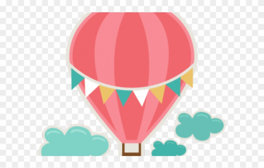 Cute balloon clipart png free stock Heart Clipart Hot Air Balloon - Cute Hot Air Balloon Clipart - Png ... png free stock