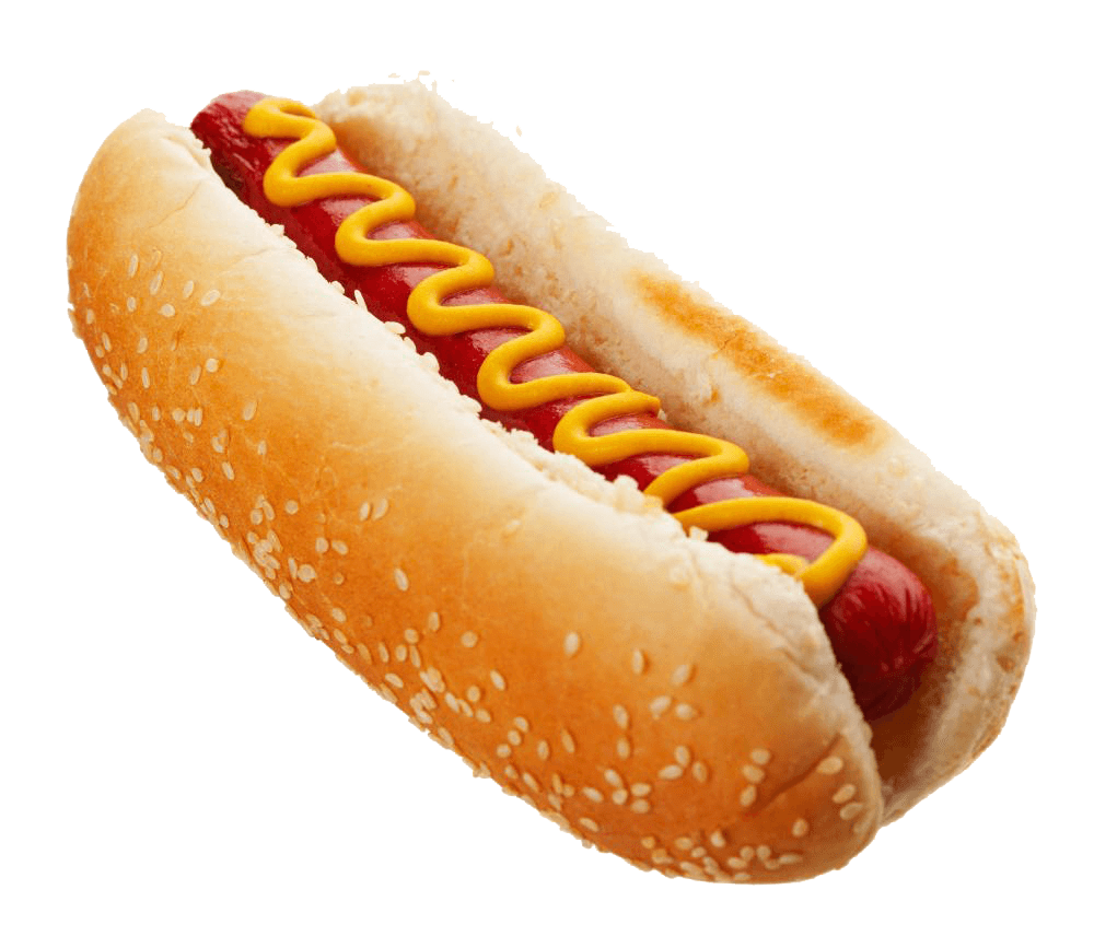 Clipart hot dog black and white library Hot Dog Top transparent PNG - StickPNG black and white library