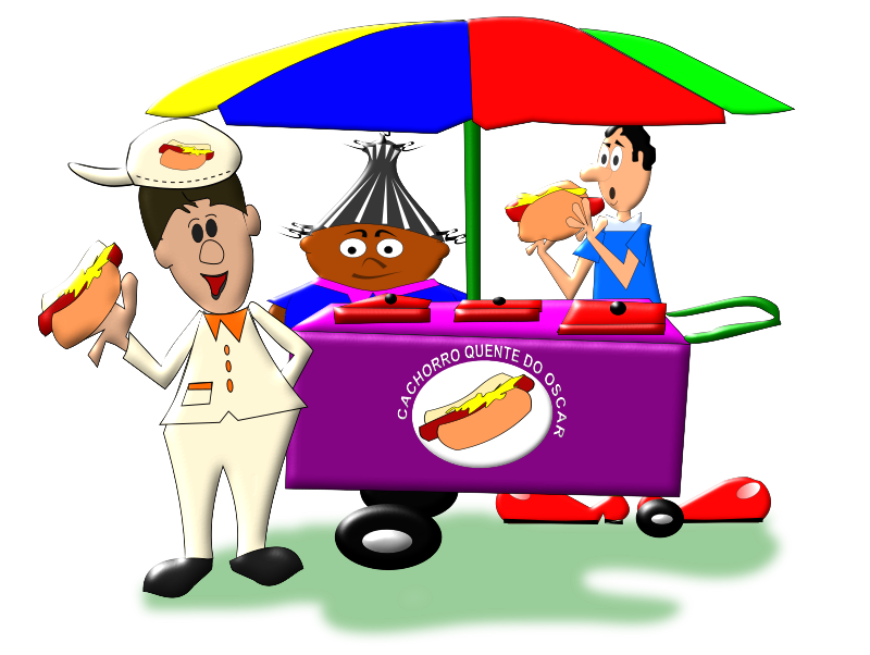 Hot dog cart clipart svg stock 28+ Collection of Hot Dog Vendor Clipart | High quality, free ... svg stock