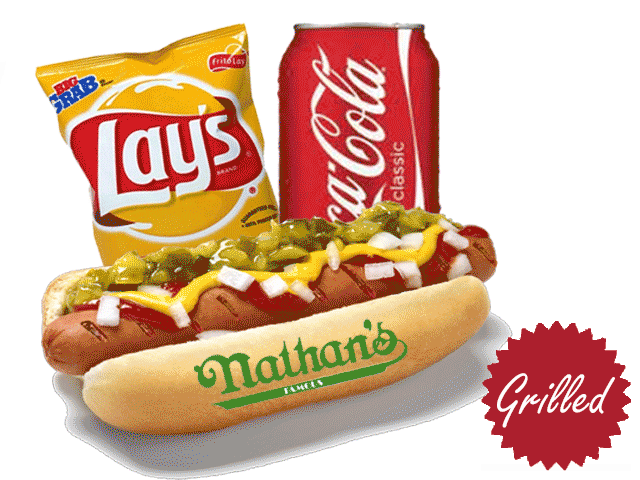 Hot dog chips and drink clipart banner stock Hotdog And Drink Clipart (36+) banner stock