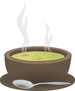 Clipart hot soup svg royalty free library Hot Steaming Bowl Of Soup Clip Art at Clker.com - vector clip art ... svg royalty free library