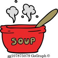 Clipart hot soup svg free library Hot Soup Clip Art - Royalty Free - GoGraph svg free library