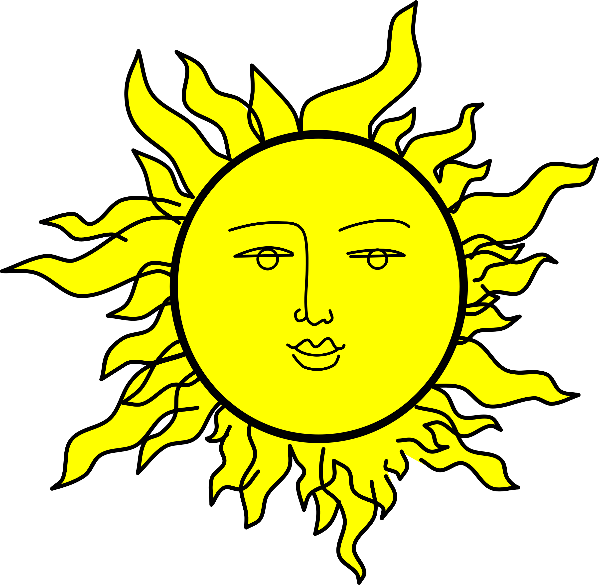 Sun clipart no face graphic royalty free library Hippie Clipart Sun Free collection | Download and share Hippie ... graphic royalty free library