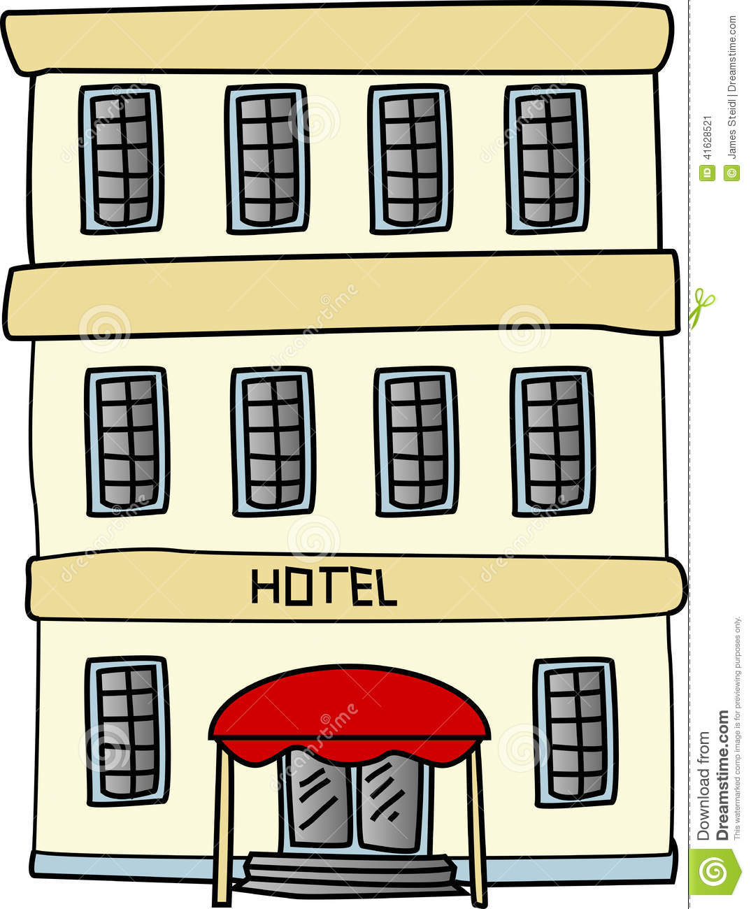 clipartlook. Free clipart hotel