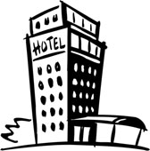 Hotel clipart black and white picture freeuse Free Hotel Cliparts, Download Free Clip Art, Free Clip Art on ... picture freeuse