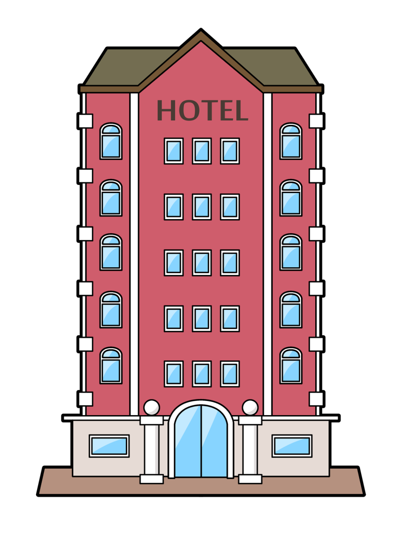 Free clipart hotel. Cliparts download clip art