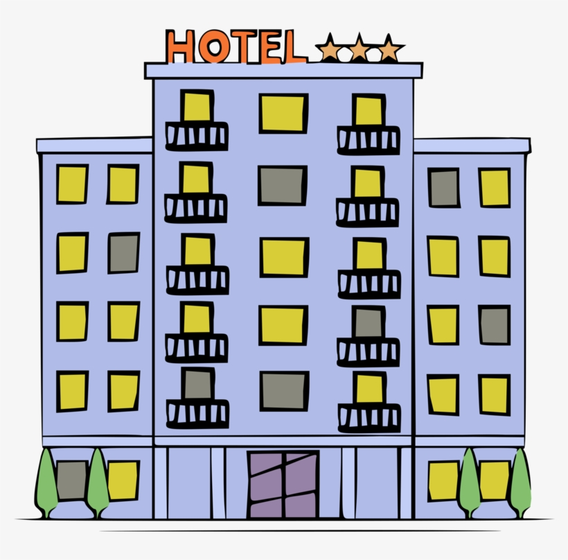 Clipart hotels & resorts clipart freeuse download Hotel Accommodation Resort Gratis Restaurant - Accommodation Clipart ... clipart freeuse download