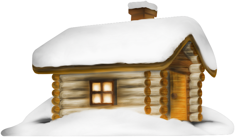 House in snow clipart graphic Transparent Winter House with Snow PNG Clipart | Gallery ... graphic
