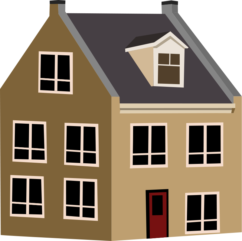 Google free clipart house graphic Free Village House Clip Art #45381 - Free Icons and PNG Backgrounds graphic