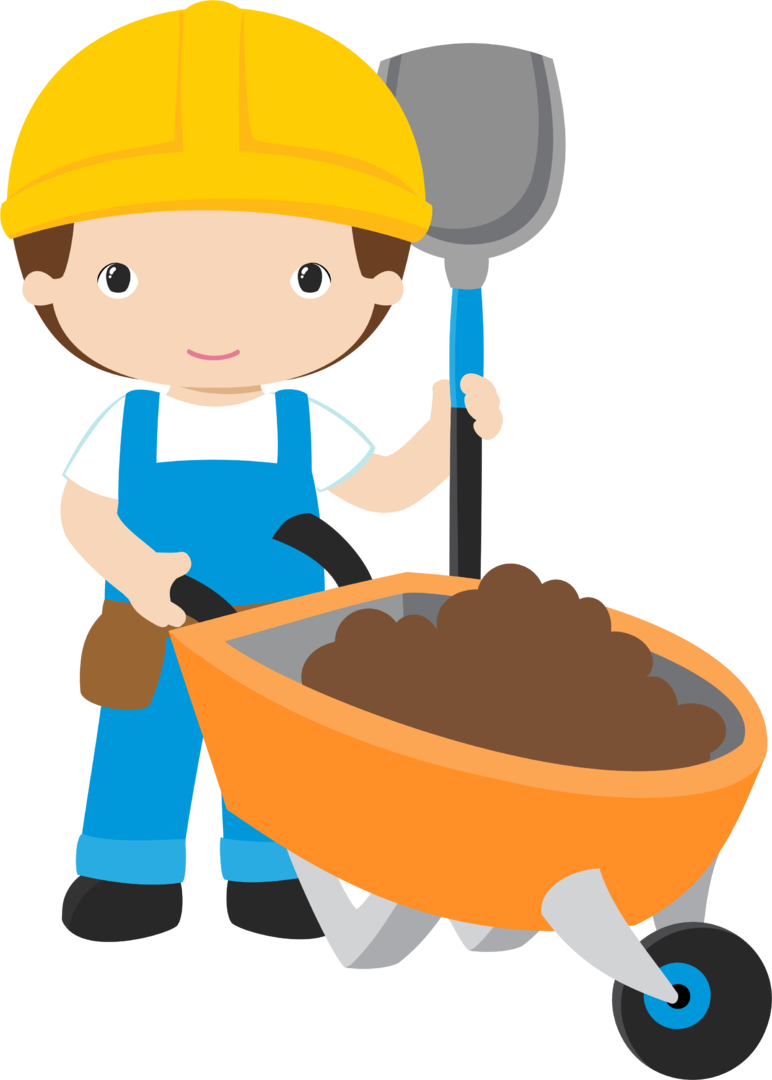 Clipart house construction library CONSTRUÇÃO   Occupation clip   Pinterest   Construction party and ... library