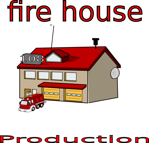 House fire clipart clip art royalty free library Fire House Clip Art at Clker.com - vector clip art online, royalty ... clip art royalty free library