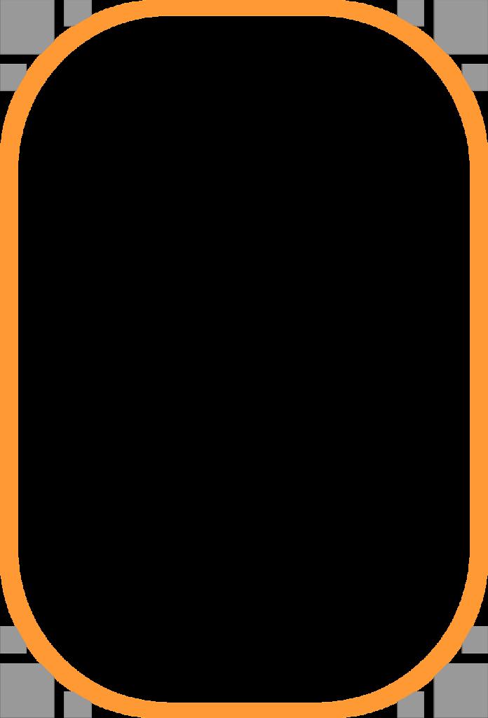 Football field border clipart jpg black and white library Orange Border Frame PNG Clipart - peoplepng.com jpg black and white library