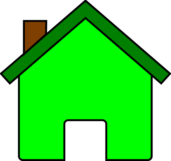 House top view clipart vector library Green House Clip Art at Clker.com - vector clip art online, royalty ... vector library
