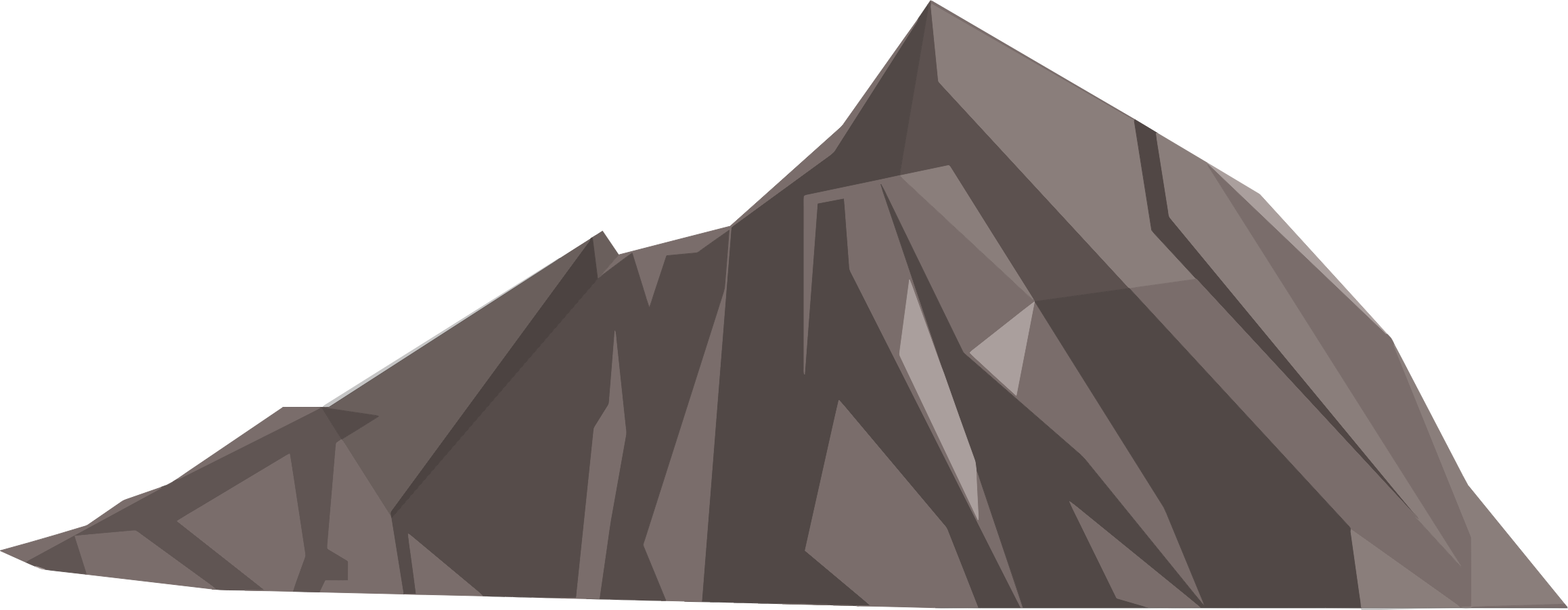 Clipart house mountain picture transparent Clipart - Low Poly Mountain picture transparent