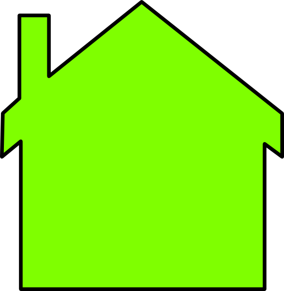 Outline of a house clipart jpg free download New House Outline Clip Art at Clker.com - vector clip art online ... jpg free download