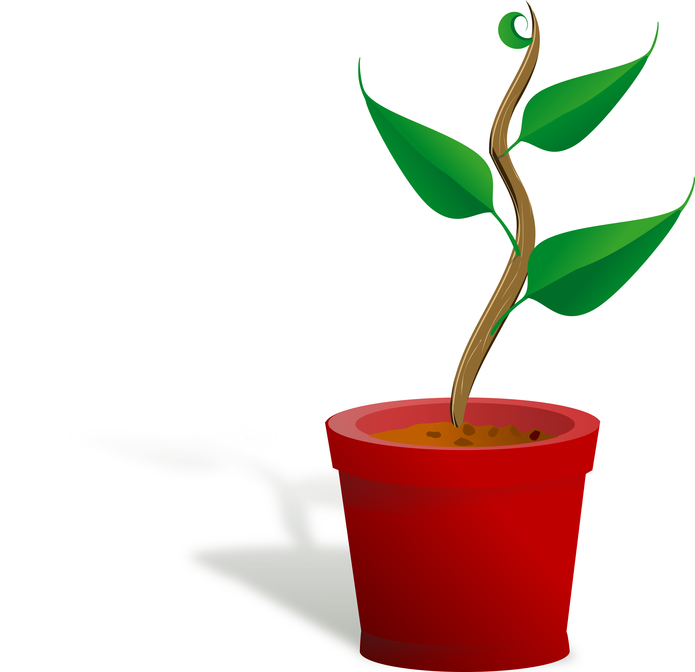 House plant clipart free Clipart - plant growing free